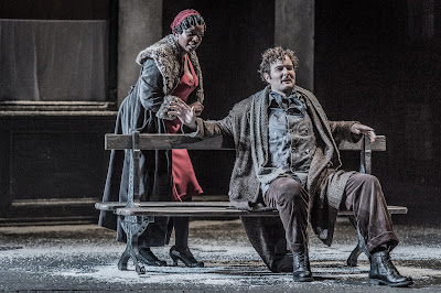Puccini: La bohème - Nadine Benjamin, Nicholas Lester - English National Opera (Photo Robert Workman)