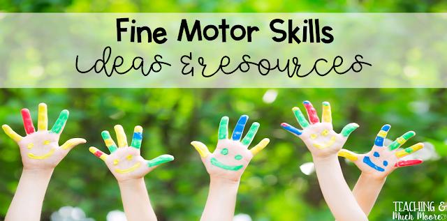 fine motor skills ideas