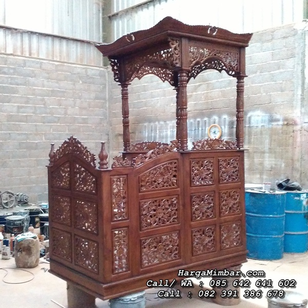 Model Mimbar Masjid Jepara