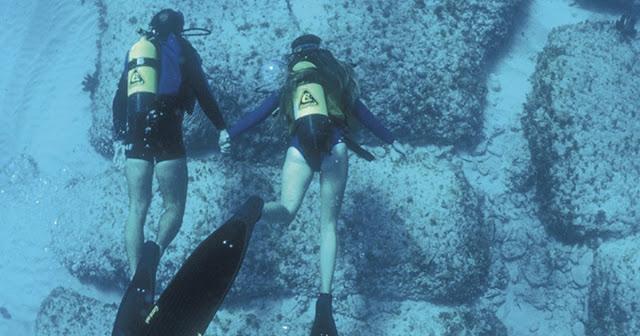Bimini Road, Road to Atlantis, Underwater cities
