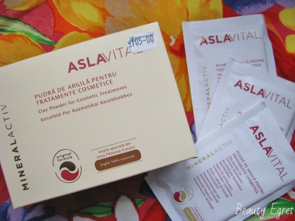Глиняная пудра AslaVital для лечения акне