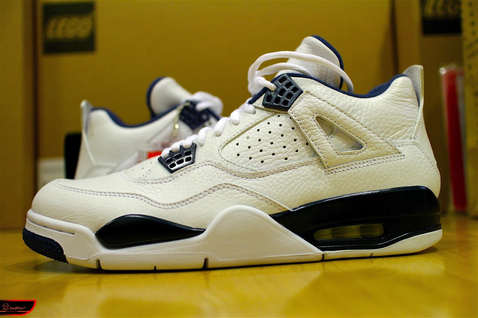 回憶吧!進入Air Jordan 4的三段故事-AIR JORDAN 4 RETRO LS Columbia復刻籃球鞋