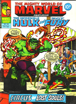 Mighty World of Marvel #288, Hulk vs the Circus of Crime
