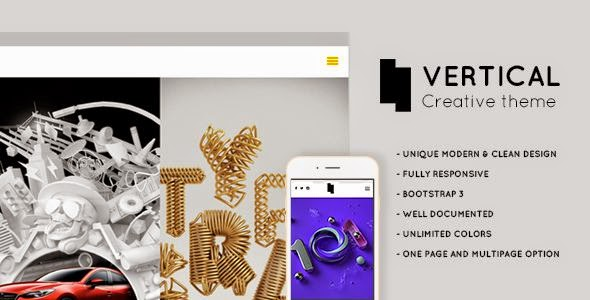 Vertical - Creative WordPress Theme