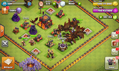 Clash of Clans MOD FHx V8 Private Server Indonesia Update Januari 2016