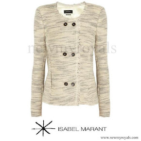Princess Marie wore ISABEL MARANT jacket