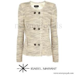 Princess Marie wore ISABEL MARANT jacket