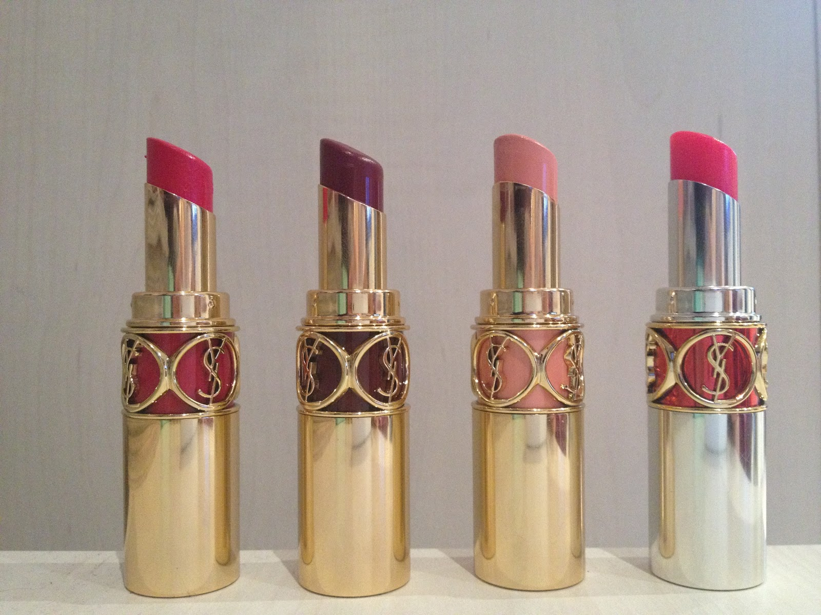 Serena Blogs Beauty: Quick Review: Yves Saint Laurent Lipsticks