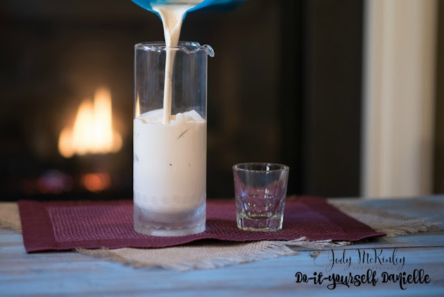 DIY copycat rum chata recipe.