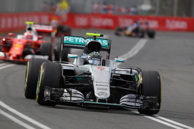 Hasil balapan penuh untuk putaran pertama 2016 Formula 1