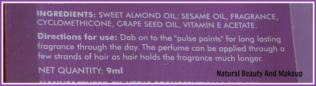 Fabindia Arabic Jasmine Perfume Oil (Calming & Rejuvenating) Review on Natural Beauty And Makeup Blog