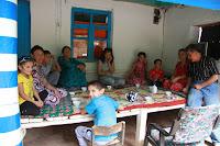 Tajikistan, Pamir, Yazgand, chaikhana, topchan, © L. Gigout, 2012