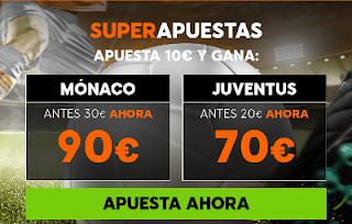 888sport cuota mejorada champions Monaco vs Juventus 3 mayo