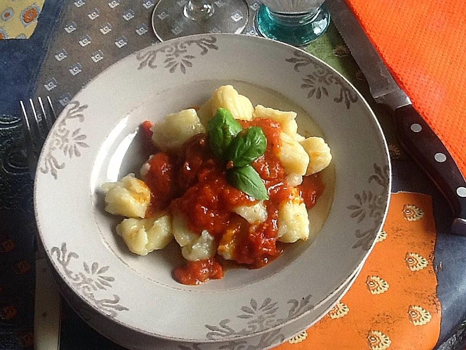 Cuisiner comme lettie les gnocchi de pommes de terre - Comment cuisiner les gnocchi ...