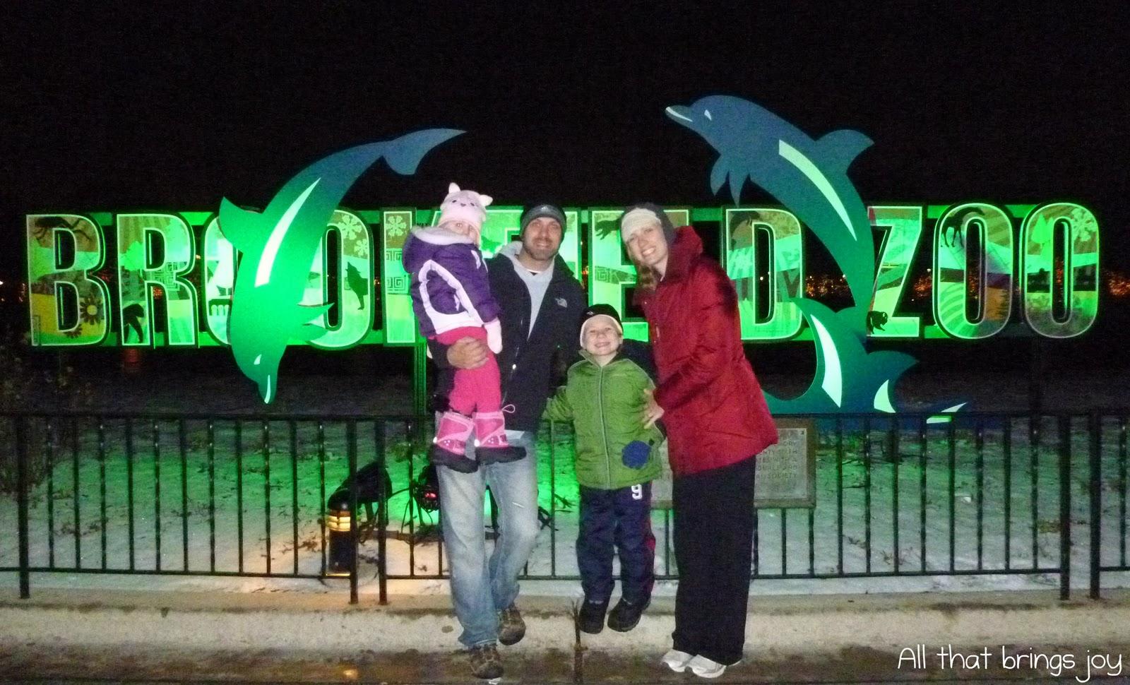 Brookfield Zoo Lights Hours