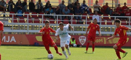 Macedonian U-­17 Football Team Draws with Italy