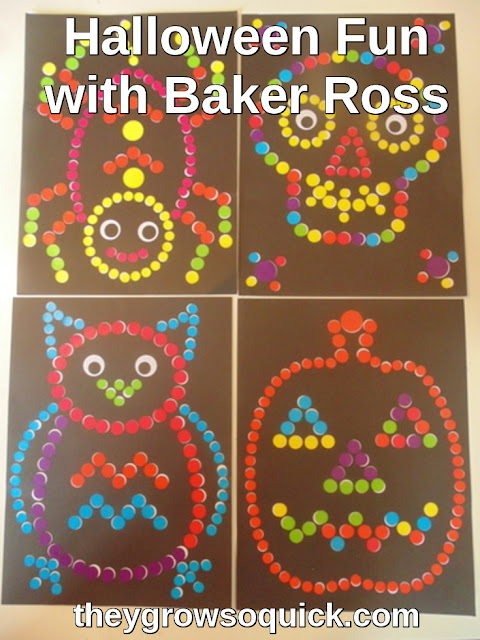 Halloween fun with Baker Ross