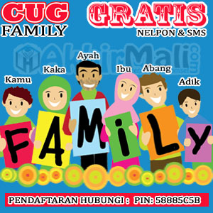 CUG FAMILY AKHIR MALI PIN 58885C5B