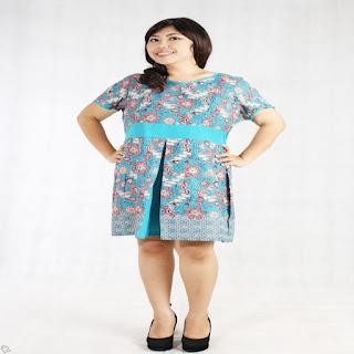 pakaian batik untuk orang gemuk