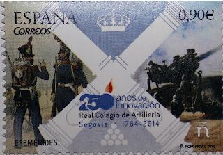 250 Aº COLEGIO DE ARTILLERÍA DE SEGOVIA