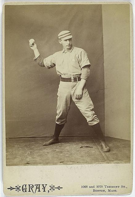 Posed Portraits Of 19th Century Baseball Stars Vintage