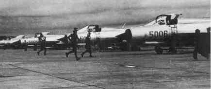 Foto bentuk pesawat tempur Indonesia era 1960-an