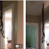 Man Shocked After Coming Home To Find Snakes Mating From The Ceiling. ( See Photos)