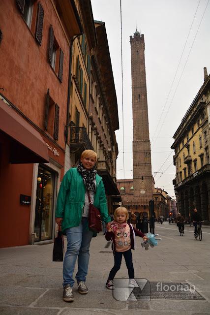 Dzieci w Bolonii. Rodzinny blog podróżniczy