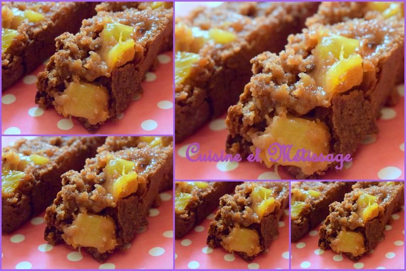 cake chocolat lait ananas