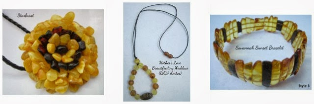 Spark of Amber, Baltic Amber, Teething Necklace