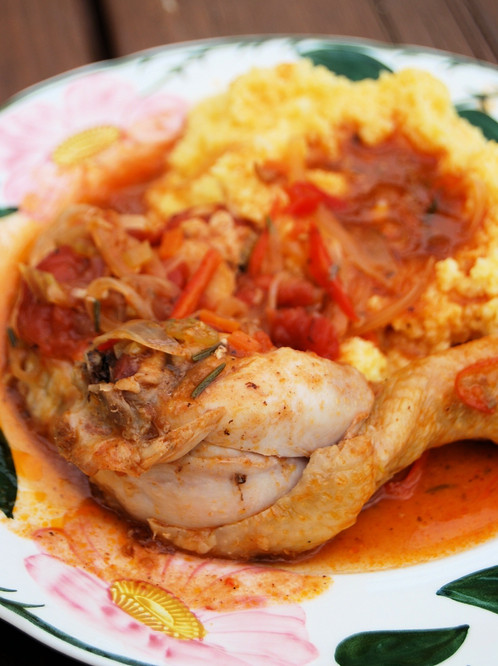 Thermomix Chicken Cacciatore Recipe