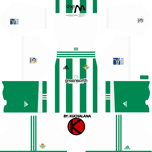 Real Betis Kits 2017 18 Dream League Soccer Kuchalana