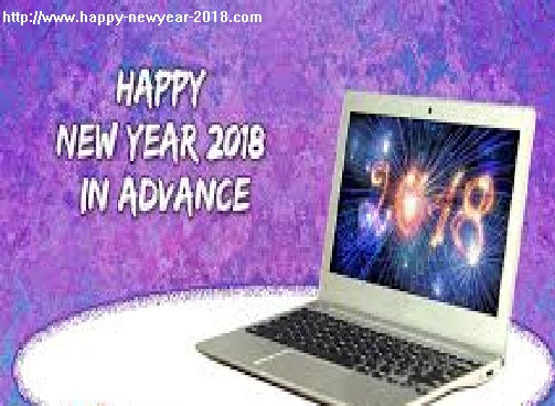Advance Happy New Year Wishes 2018
