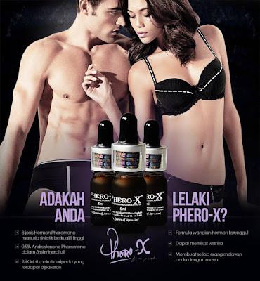Parfum Phero X Pemikat Wanita Makin Mesra