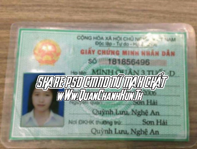 SHARE PSD CMND NỮ MAX CHẤT !