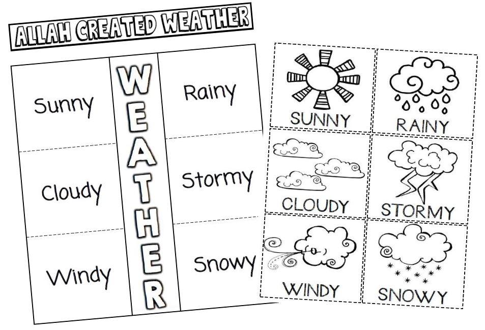 Iman's Home-School: Seasons & Weather Interactive Notebook