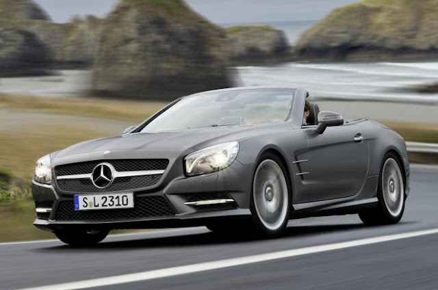 Mercedes SL500 test drive and review