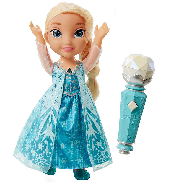 Frozen Sing along Elsa doll and microphone