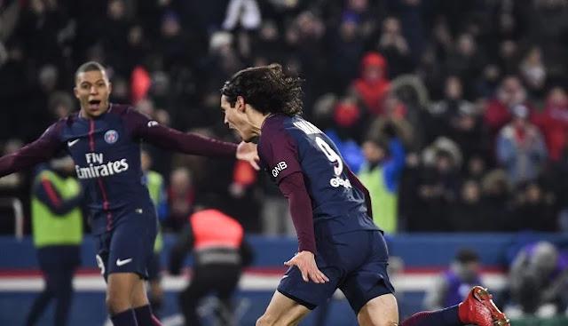 مباراة باريس سان جيرمان ومارسيليا