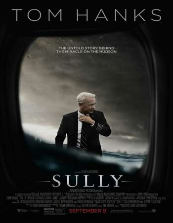 Poster Of Sully 2016 English 400MB BRRip 720p ESubs HEVC Free Download Watch Online downloadhub.in