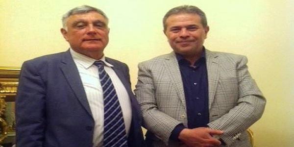 اكاذيب الصحافة الاسرائيلية عن لقاء توفيق عكاشة وكورين