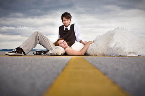 Foto Prewedding Unik Romantis