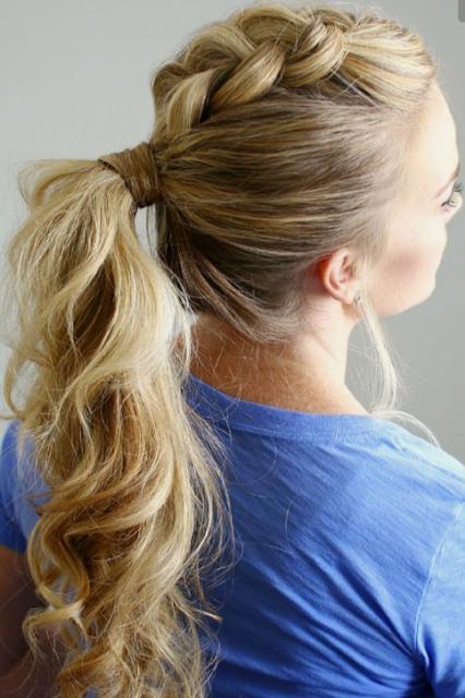 10 peinados de verano con trenzas y 5 hand-up bun