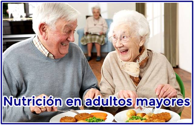 Consejos de alimentación para los adultos mayores