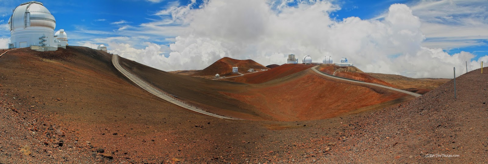 Mauna Kea volcano Hawaii summit geology travel trip observatory telescope copyright RocDocTravel.com