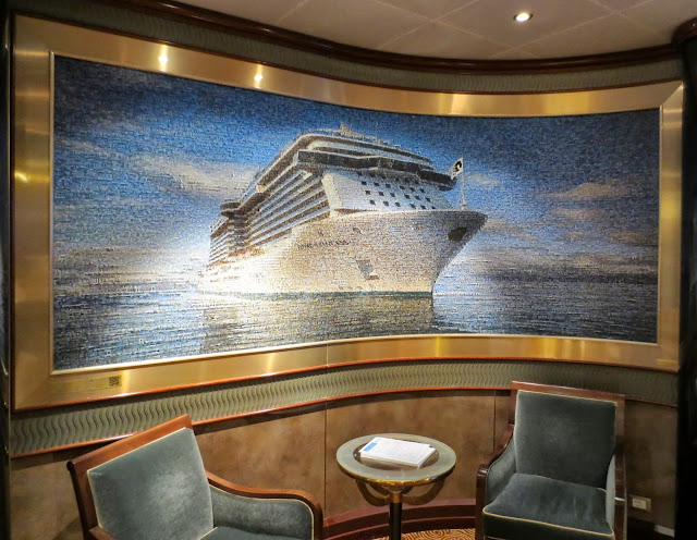 Royal Princess, one photo with a lot of photos