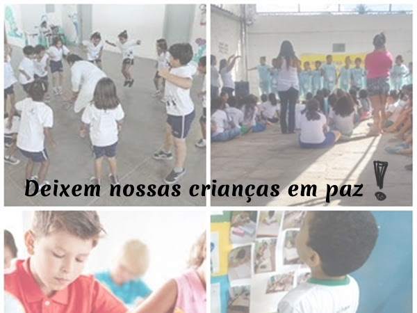 """""""DEIXEM NOSSAS CRIANÇAS EM PAZ""""."""