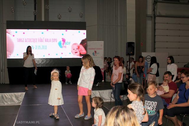 pokaz mody dziecięcej babytime