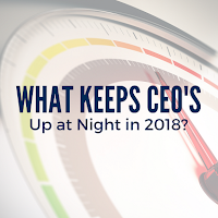 Bellwether Survey Reveals What Will Keep CEOs Up at Night in 2018