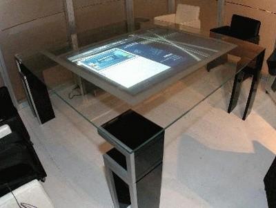 Progettazione e arredo in 3d i materiali del futuro - Tavoli interattivi ...